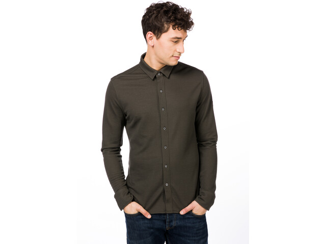 ... Comfort - T-shirt manches longues Homme - marron. super.natural ... 6aecfdd0c019